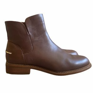 Women's Franco Sarto Happily ankle boots brown leather